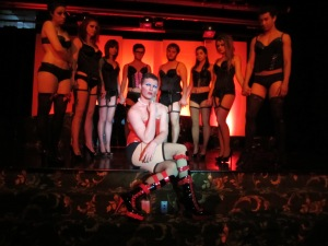 The Cast of the Rocky Horror Production I directed at Miami <3
